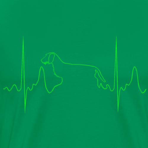 Rauhaardackel Odin - Männer Premium T-Shirt
