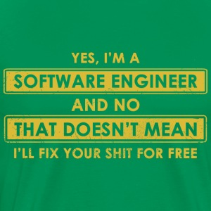 software Engineer - Men's Premium T-Shirt