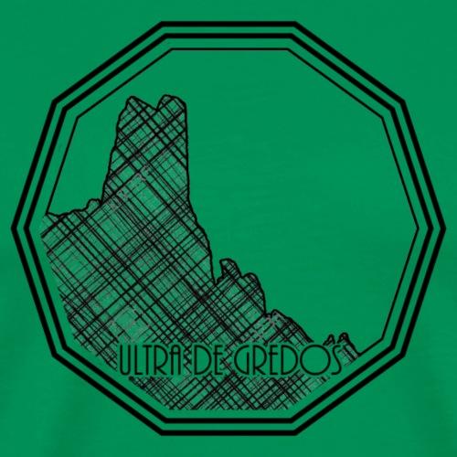 Logo rallado - Camiseta premium hombre