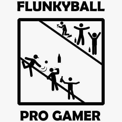 Flunkyball Pro Gamer - Männer Premium T-Shirt