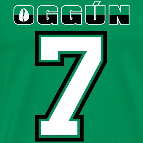 Oggun number 7 G - Mannen Premium T-shirt