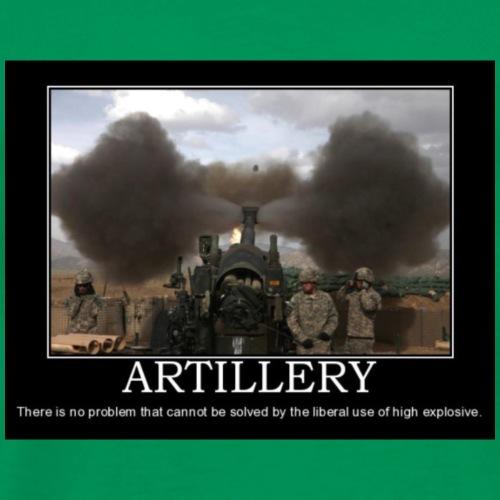 Artillery - Men's Premium T-Shirt