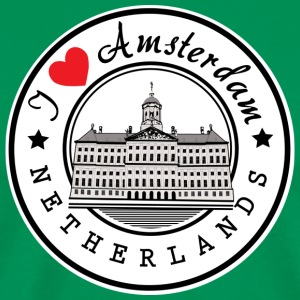Amsterdam I Love You - Men's Premium T-Shirt