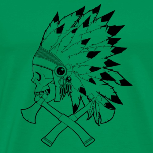 Native American Indian - T-shirt Premium Homme