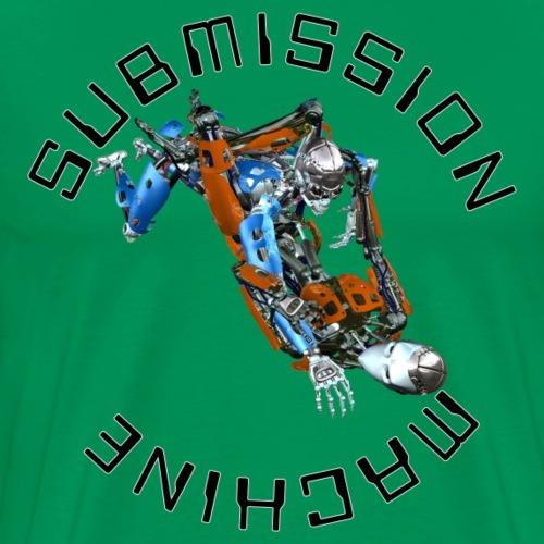 SUBMISSION MACHINE TRIANGLE - Men's Premium T-Shirt