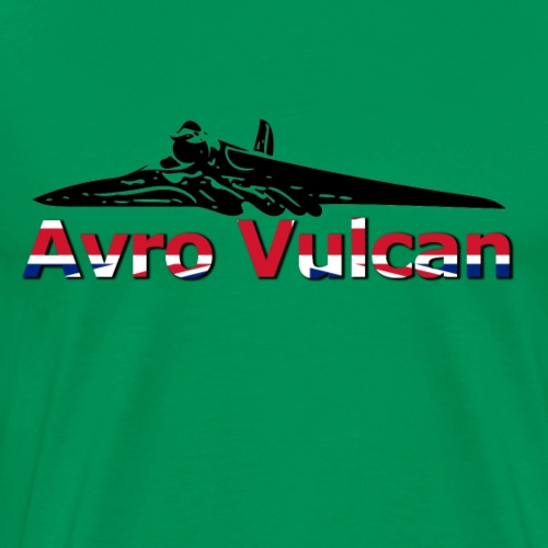 Avro Vulcan -- XH558 Tribute - Men's Premium T-Shirt