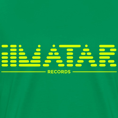 ilmatar Records T-Shirt Orange/Schwarz - Männer Premium T-Shirt