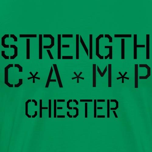 strength camp black - Men's Premium T-Shirt