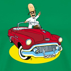 Mr. Bean Man Buick - Herre premium T-shirt