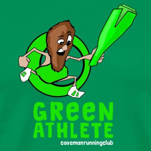 Green Athlete - Men's Premium T-Shirt