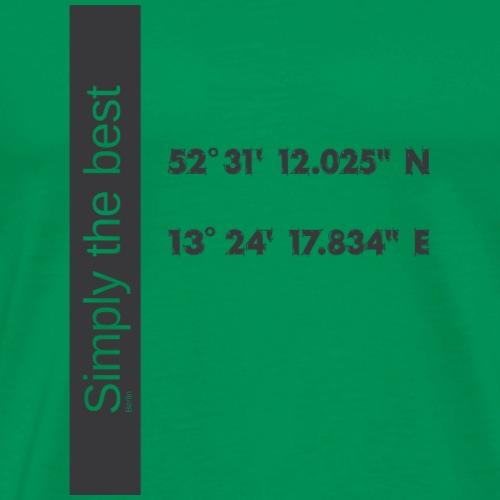 Berlin Simply the best - Männer Premium T-Shirt