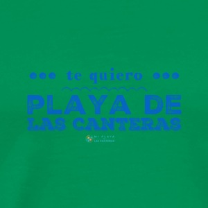 I love Playa de Las Canteras - Men's Premium T-Shirt