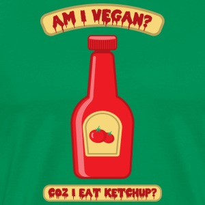 Bottle of Ketchup Vegan - Men's Premium T-Shirt