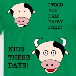 dairy free calf - Men's Premium T-Shirt