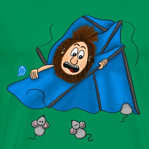 Uffi geht zelten - Männer Premium T-Shirt