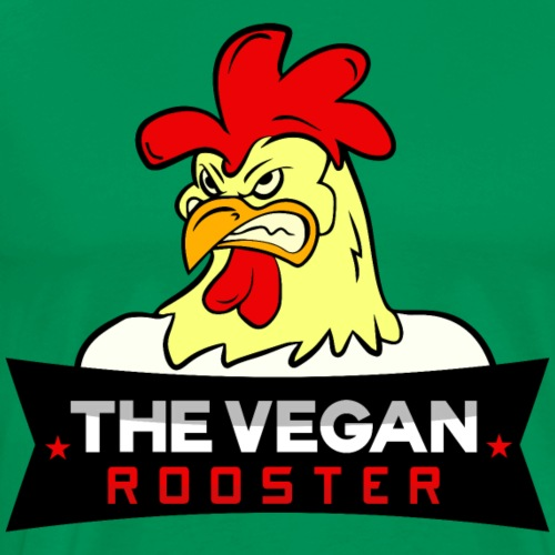 THE VEGAN ROOSTER - Männer Premium T-Shirt