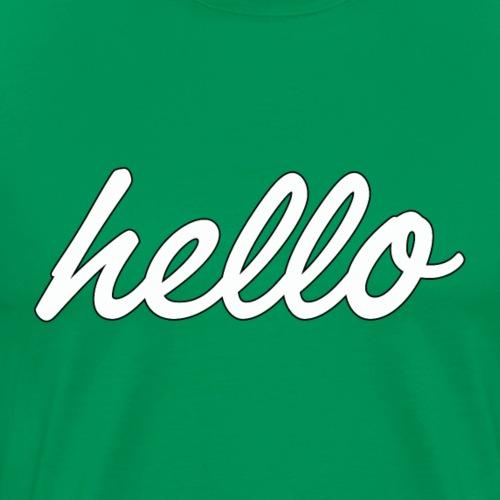 Hello World - T-shirt Premium Homme