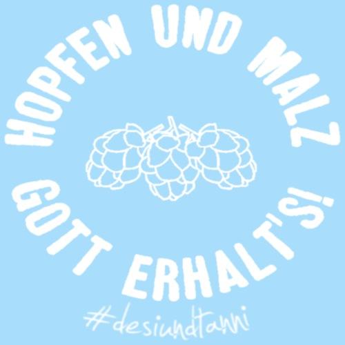 Hopfen und Malz Gott erhalts! - Männer Premium T-Shirt