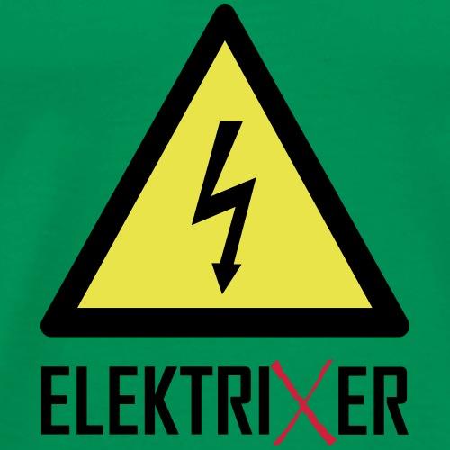 ElektriXer Elektriker Blitz Pfeil - Männer Premium T-Shirt