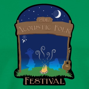 Acoustic Folk Festival - Men's Premium T-Shirt