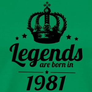 Legends 1981 - Men's Premium T-Shirt