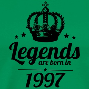 Legends 1997 - Premium T-skjorte for menn