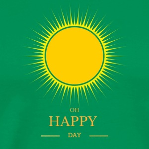 soleil de yoga t-shirt Oh Happy Day - T-shirt Premium Homme