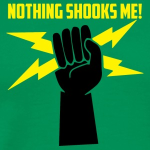 Electricians: Nothing Shooks me! - Men's Premium T-Shirt