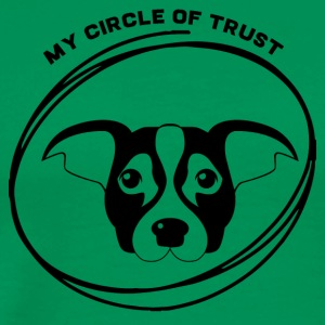 Dog / Jack Russell: My Circle Of Trust - Men's Premium T-Shirt