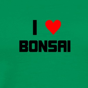 I love Bonsai - Männer Premium T-Shirt