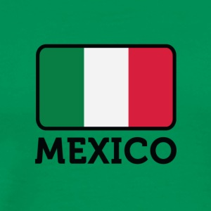 National Flag Of Mexico - Premium-T-shirt herr