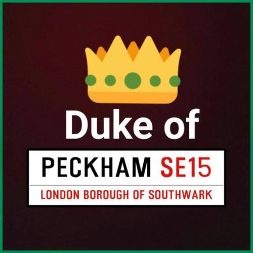 Duke of Peckham Print - Men's Premium T-Shirt