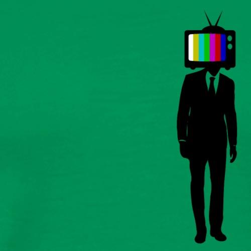 TV-Head - Männer Premium T-Shirt