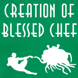 CREATION OF BLESSED CHEF WHITE - Men's Premium T-Shirt