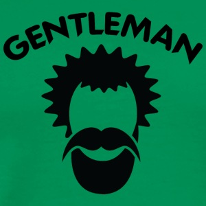 GENTLEMAN 8 black - Men's Premium T-Shirt