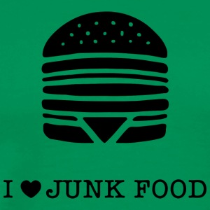 I love junk food / I love junk food - Men's Premium T-Shirt