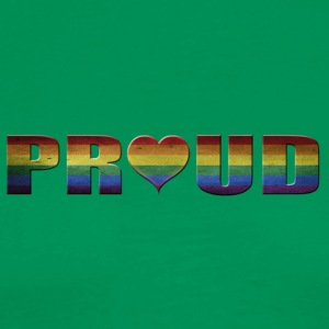 proud to be gay - Men's Premium T-Shirt