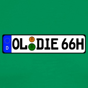 Oldie 66 historically - Men's Premium T-Shirt