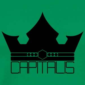 Capitalis Crown - Premium T-skjorte for menn