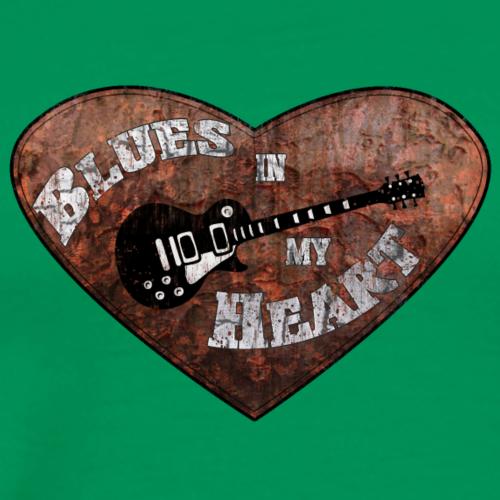 BluesHeart - Männer Premium T-Shirt