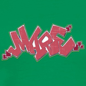 Cool street art graffiti - Mannen Premium T-shirt