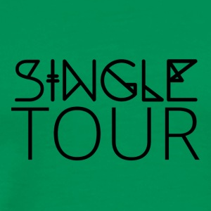 Single: Single Tour - Herre premium T-shirt