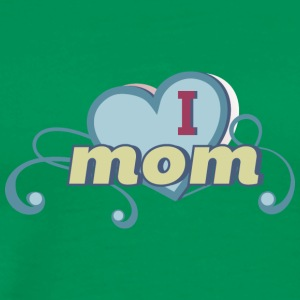 i love mom 2 - Männer Premium T-Shirt