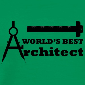 Architekt / Architektur: World´s Best Architect - Männer Premium T-Shirt