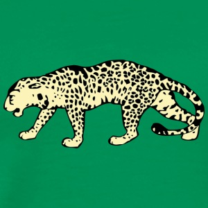leopard - Men's Premium T-Shirt
