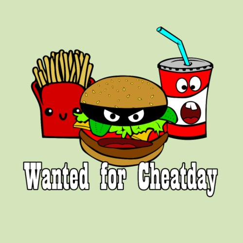 Cheatday: Burger, Pommes, Softdrink - Männer Premium T-Shirt