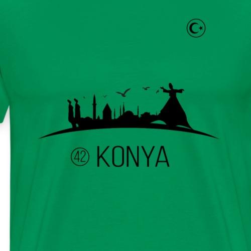 Konya T-Shirt 42 Tshirt Mevlana Türkiye Tshirt - Männer Premium T-Shirt