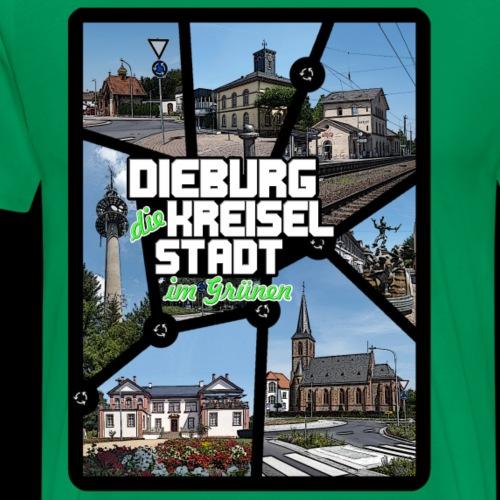 Dieburg die KREISELSTADT im Grünen - Männer Premium T-Shirt