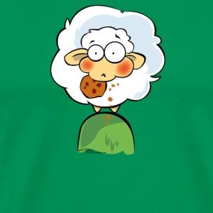 Schaf Wolle 02 - Männer Premium T-Shirt