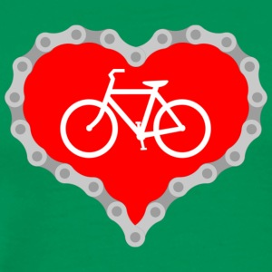 Love Biking - Men's Premium T-Shirt